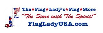 The Flag Lady's Flag Store logo