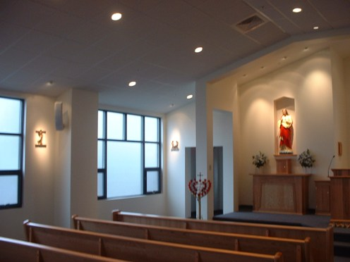 This is an example of a customized Sound System for a church designed & installed by Rick's Music.