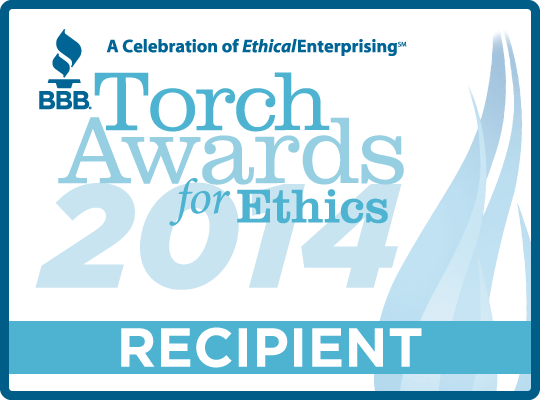 2014 Torch Awards for Ethics Recipient