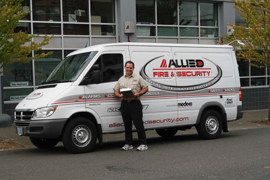 Allied has technicians in the field available to serve you 24 hours a day.