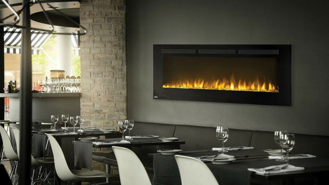 Fireplace for a Restaurant