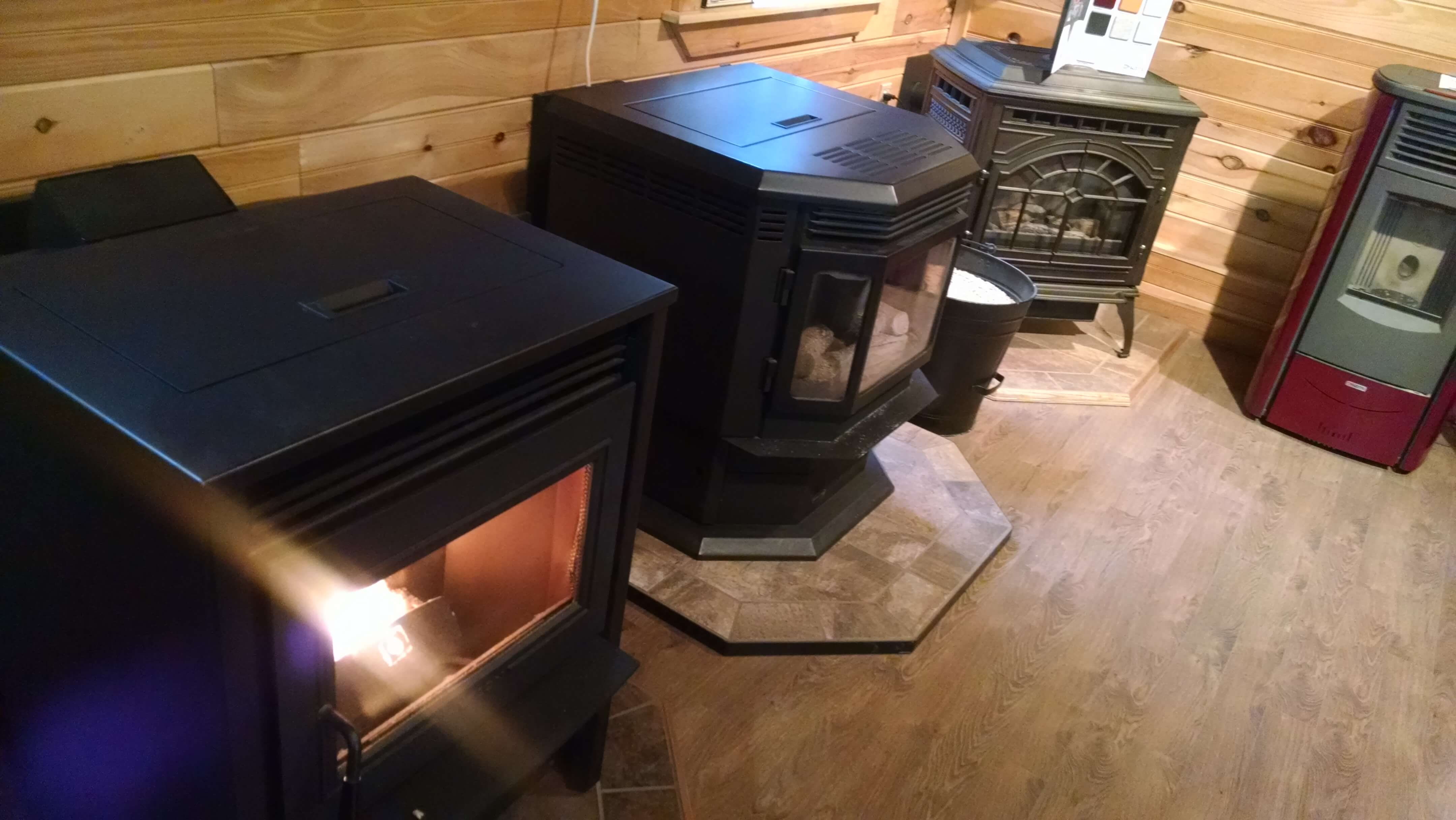 Multiple Stoves