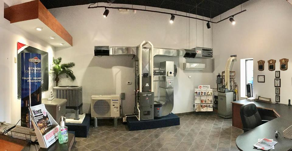 Stop in and check out our new and improved showroom at 4111 E Royalton Rd in Broadview Heights