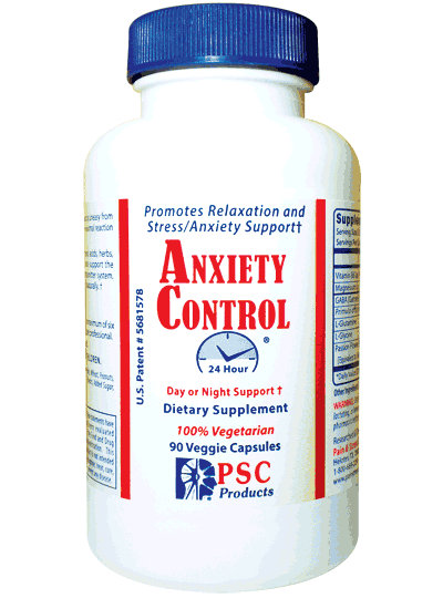 Anxiety Control for stress/anxiety