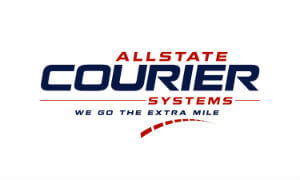 Allstate Courier Systems  logo