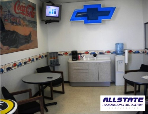 Customer Lobby at Allstate Transmission and Auto Repair of Phoenix, Az