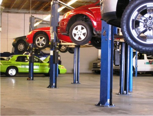 South General Auto Repair service bays at Allstate Transmission and Auto Repair in Phoenix,Az.