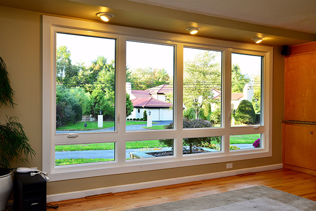 Perfect for large window openings in living rooms