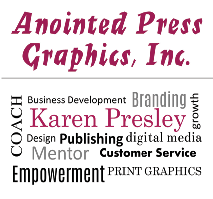 The owner, Karen Presley is passionate about people building strong brands and businesses in the marketplace