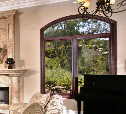 JELD-WEN Premium Windows With Arched Combinations - Featured Window & Door Project by Builders Direct Supply