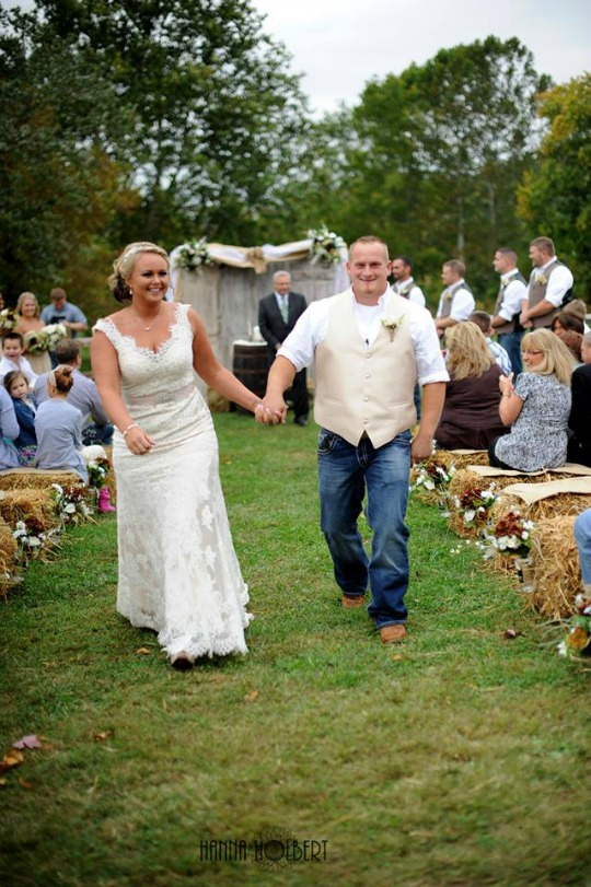 Multiple ceremony options are available outside with the hills as your backdrop!