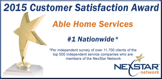 Able Recognized as Top Service Company