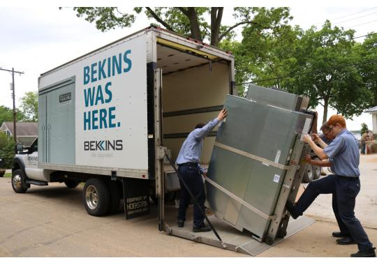 "Bekins offers installation with all major appliance purchases. Our certified and trained installers give your home ""white glove"" treatment. We will install it correctly and leave your home cleaner than when we entered."